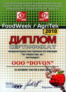 Food week 2010