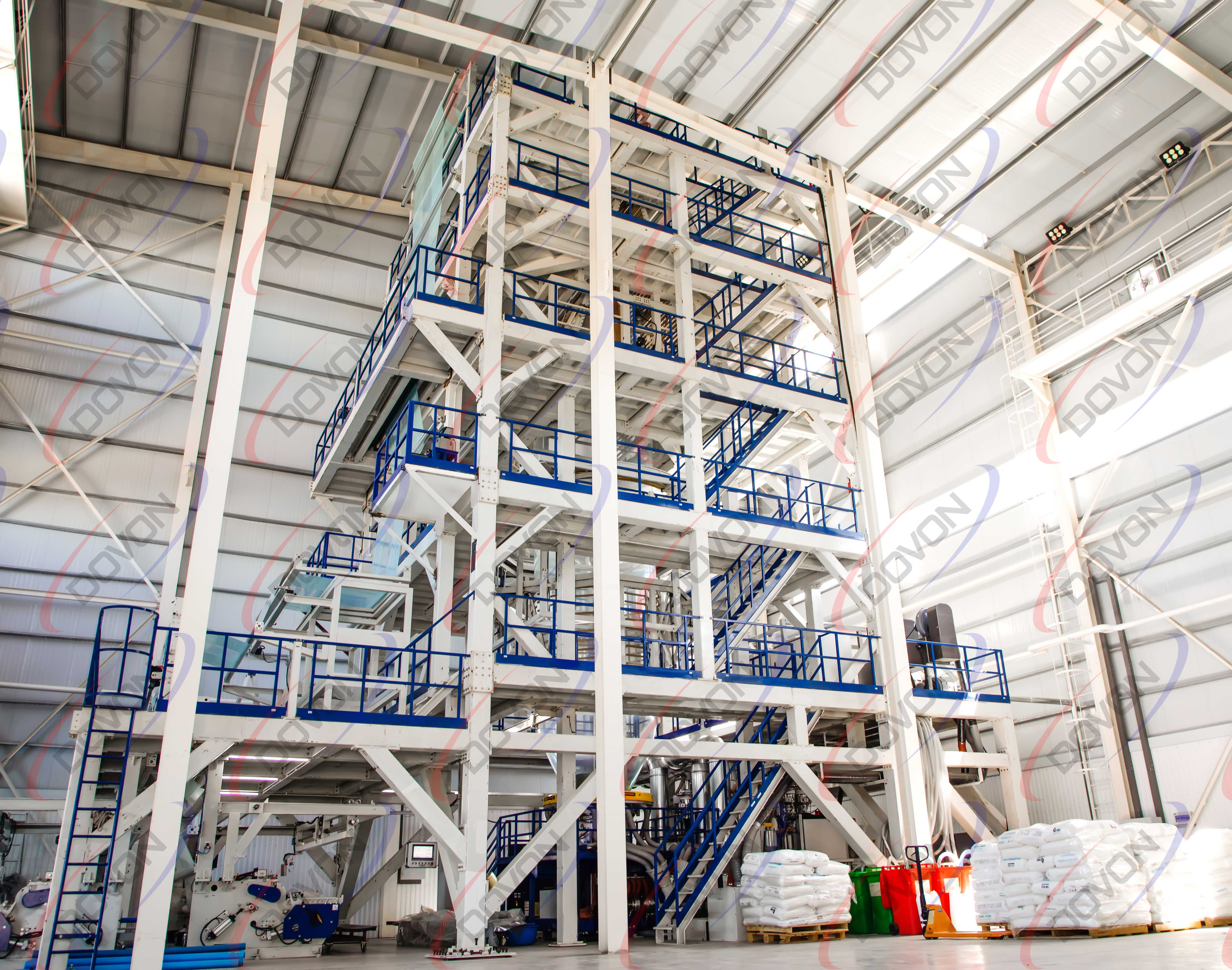 DOVON LLC has launched a new production line for manufacturing greenhouse films, with width of up to 8 meters.